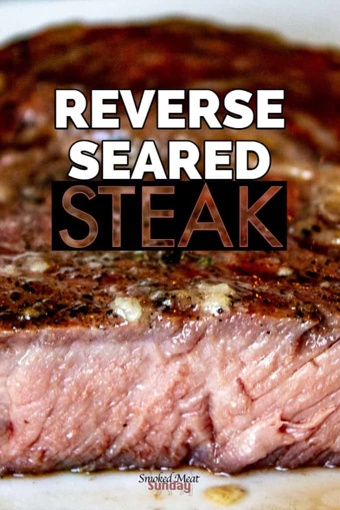 The reverse seared ribeye recipe is one recipe EVERYONE should know how to do. This is the tastiest way to make a steak!  #pelletgrillrecipes #traegerrecipes #smokedmeatrecipes #barbecuerecipes