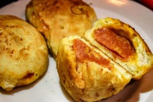 Smoked Pizza Grilled Cheese Bombs