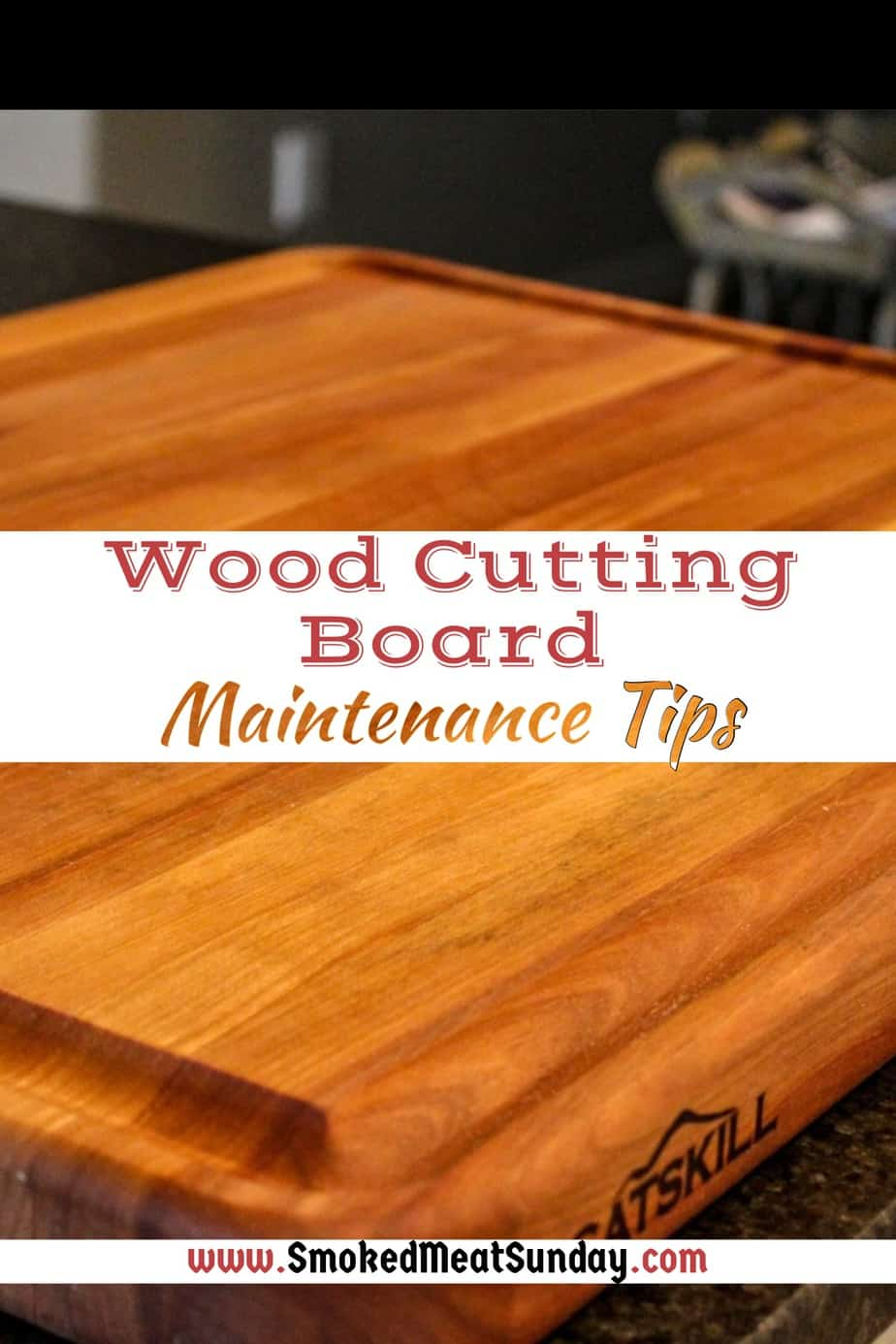 Do you have a wood cutting board? Follow these tips for wood cutting board care that will help you keep your wood cutting board looking new for years to come.