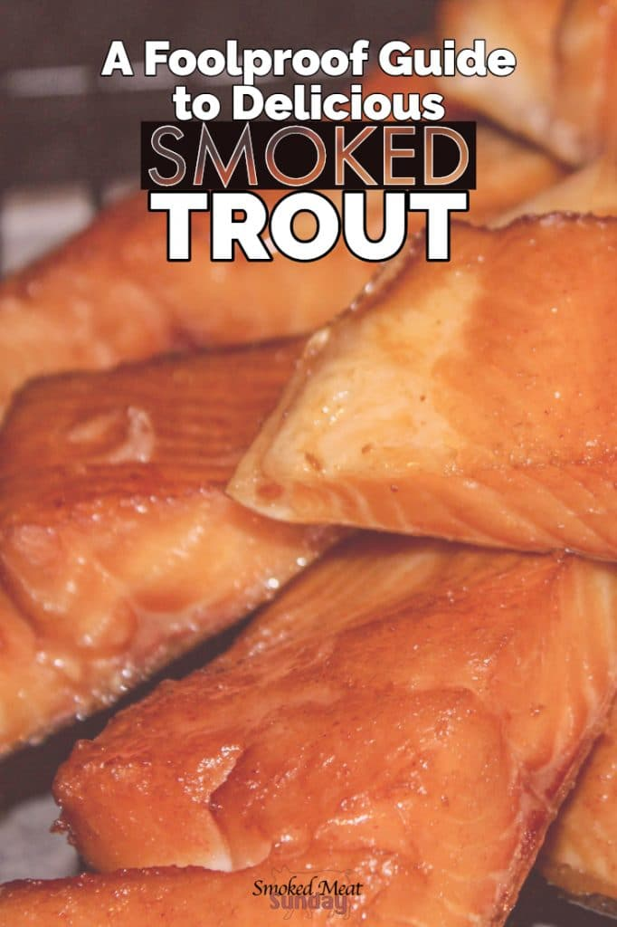 Before I settled down to start a family, I worked as a fishing guide. Long days fishing led to long nights smoking trout and salmon. This recipe comes from years of experience, and trial and error. If you're looking for the best way to smoke trout or salmon, this is it! This smoked trout recipe includes a recipe for a smoked trout brine, how long to brine trout, and how to form a pellicle too! This smoked trout guide has it all! #barbecue #easy #simple #barbecue #traegerrecipe #pelletgrill