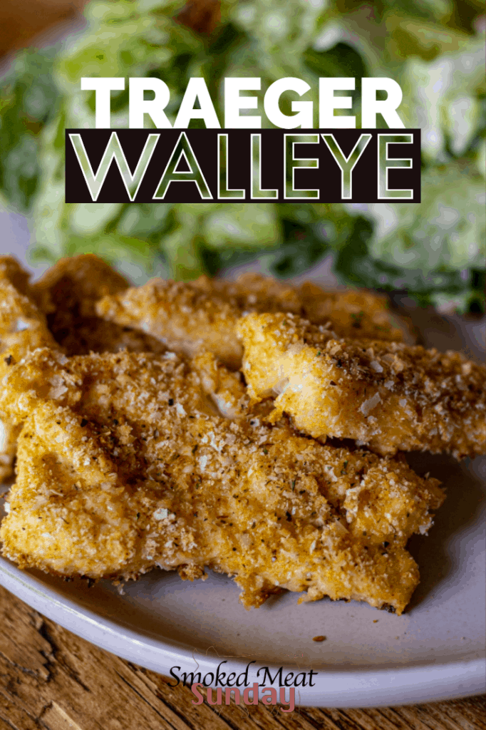 Have you ever made Walleye on your smoker? This walleye recipe is simple to follow, and tastes delicious. You can prepare any type of white fish this way including Halibut, Ling Cod, Walleye, Northern Pike, and Rockfish. #smokedfish #bbq #fish #seafood