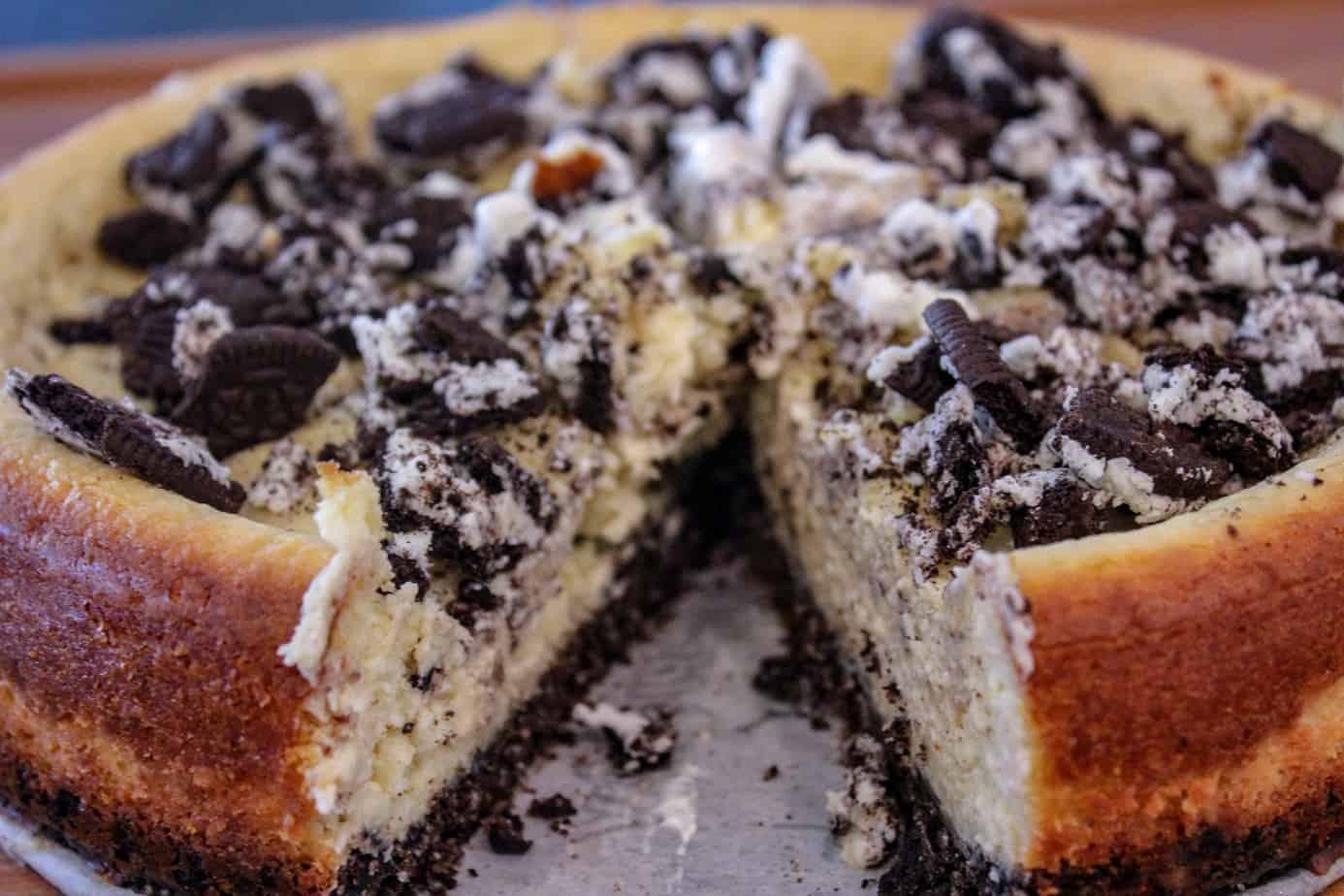 Smoked Oreo Cheesecake