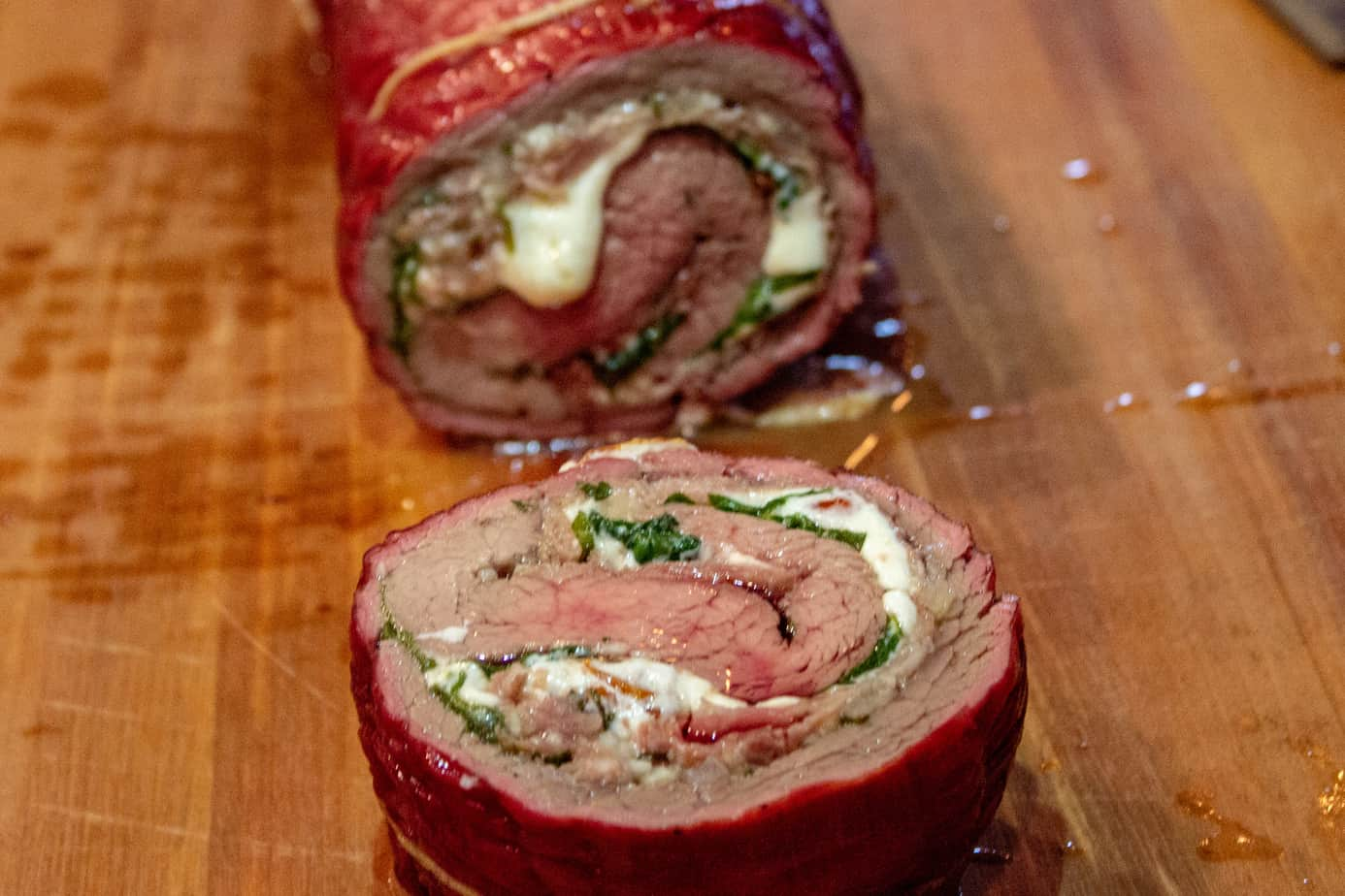 Flank Steak Roll-Ups