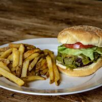 Hatch Green Chile Cheeseburger