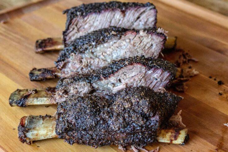 Smoked Beef Chuck Ribs