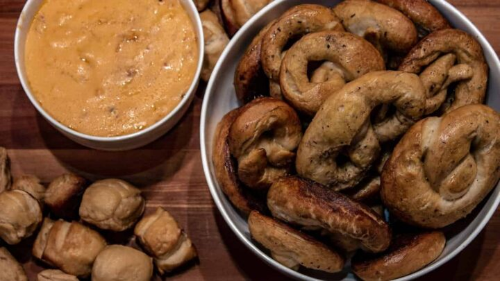 Beer Cheese and Pretzels