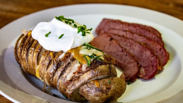 Smoked Hasselback Potatoes Recipe