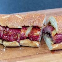 BBQ Pork Rib Sandwiches