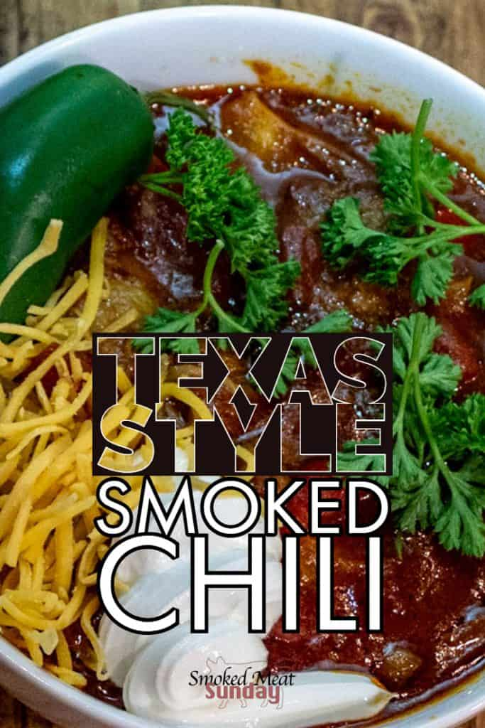 Have you ever made texas style chili? It's easy to make, and the smoked chuck roast really adds to the flavor of this recipe. #smokedchuckroast #smokedmeats #smokedchili #chilirecipe Dutch Oven Cast Iron Skillet