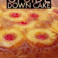 Smoked Pineapple Upside Down Cake