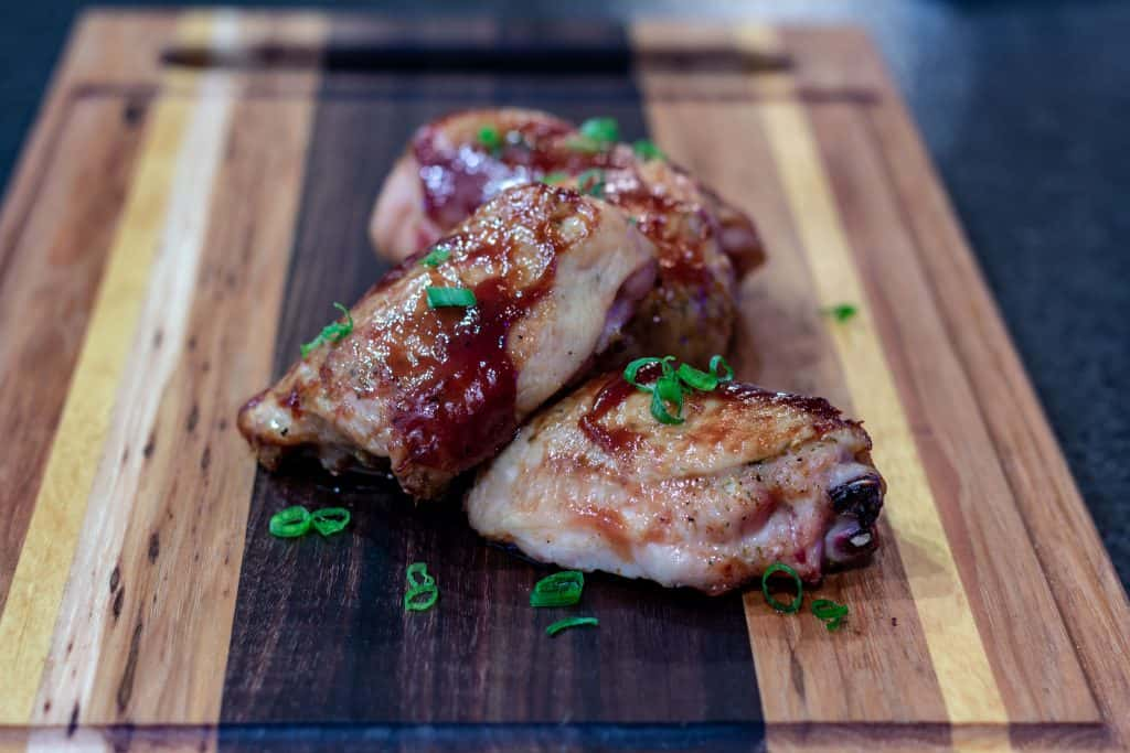Smoked Chicken Thighs