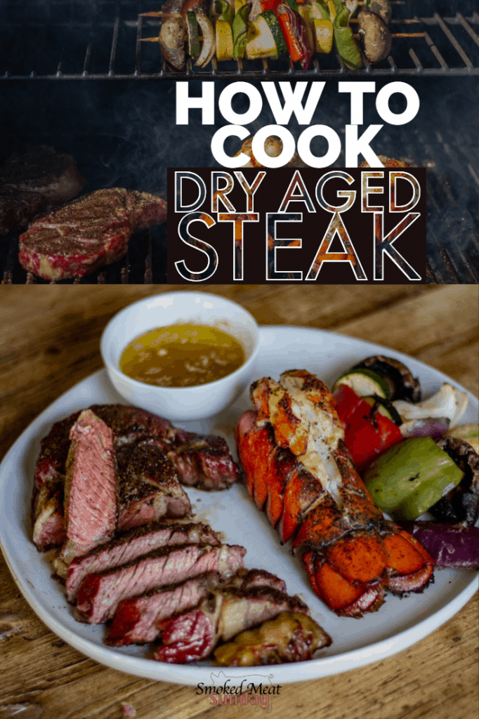 Have you ever cooked dry aged beef? It's some of the best tasting steak you'll every try.  In this post I walk through the details of what dry aging is, and why you need to go to Albertson's on Broadway to get some dry aged beef for your family, and kick off grilling season the right way.  #ad #eatlifeup #sponsored  #barbecue #steak #beef