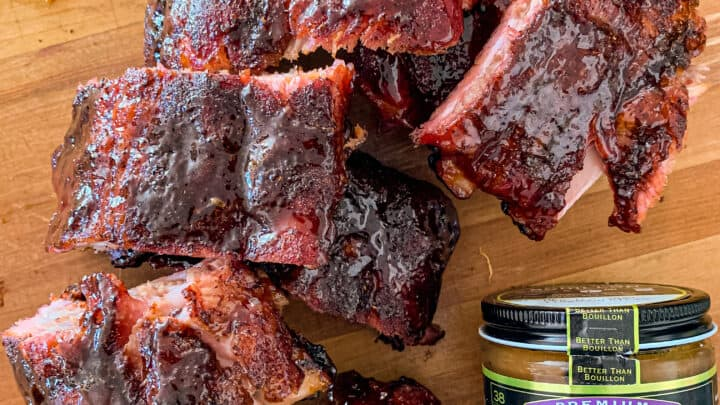 Honey Garlic Baby Back Ribs with Better Than Bouillon