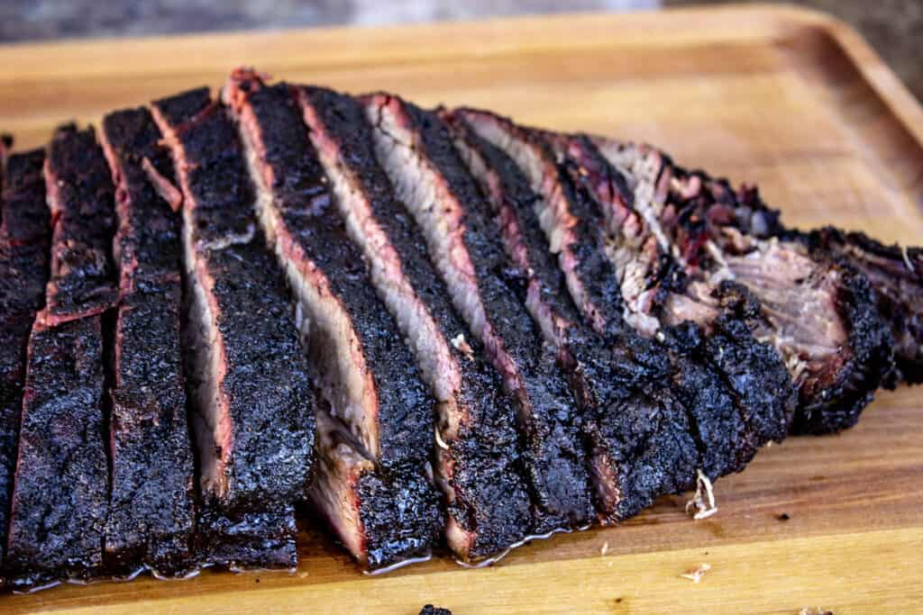 Brisket with MAJOR Bark thanks to Nick's Bark Builder Beef Rub