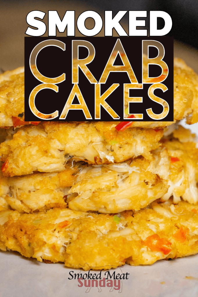 Crab Cakes. Traditionally, they're fried, but we think everything tastes better with a little woodfired kiss. So we're gonna smoke 'em. If you're looking for a simple seafood appetizer recipe that you can make on your smoker, this is it! #smokedfood #traegerrecipe #seafoodrecipe