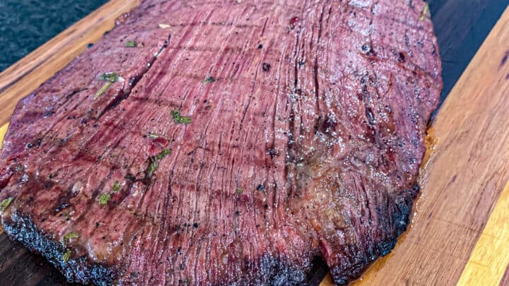 finished Flank Steak