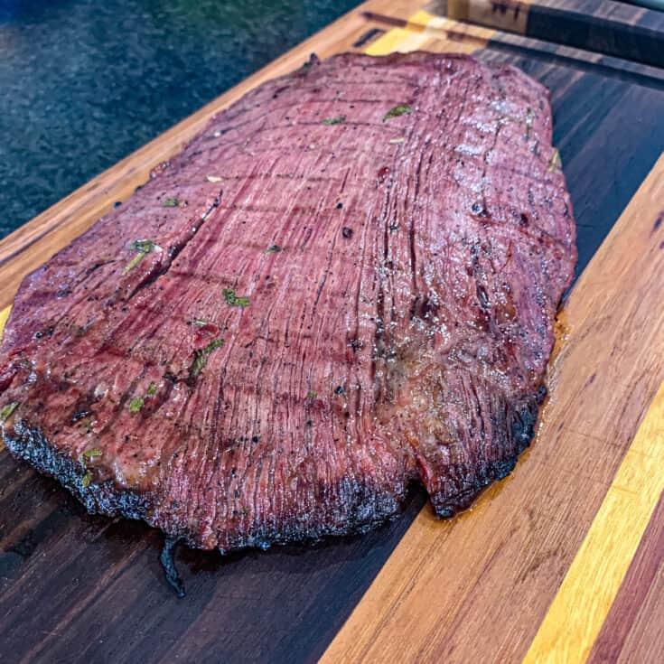 Smoked Flank Steak