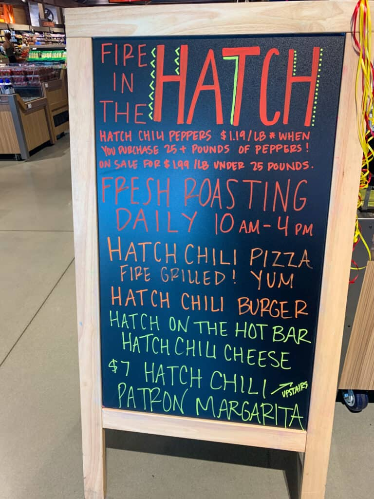 Events at Albertsons for Hatch Chile event