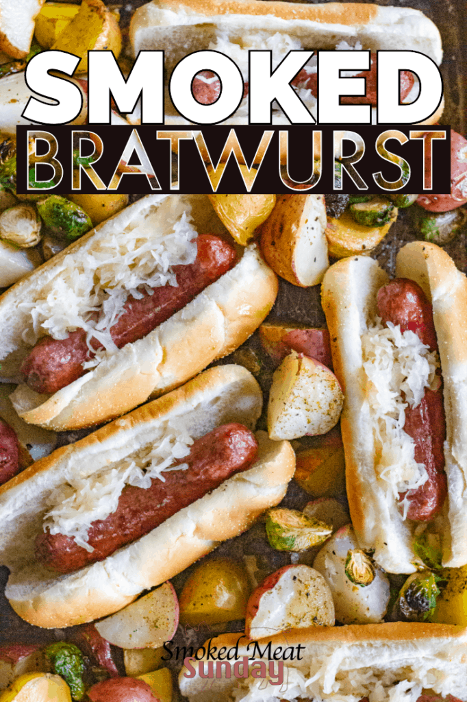 Looking for the best way to smoke brats? This is a great bbq recipe that everyone should use. It's great on the smoker, and you could make them using this method on the grill too! Don't forget to head in to Albertson's on Broadway and Albertson's Market Street and then make this recipe! #eatlifeup #ad #albertsons #smokedmeat #bbqrecipes #grillingrecipes