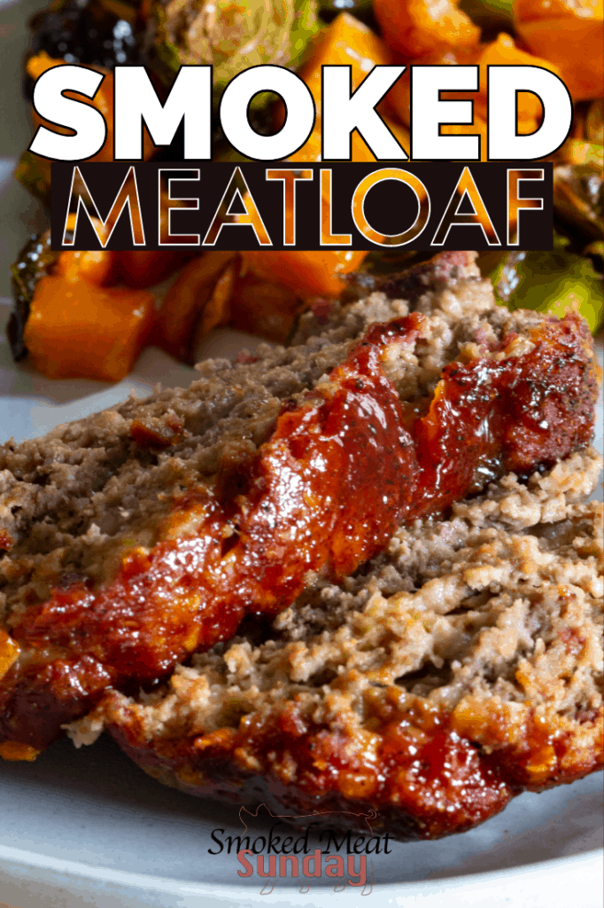 Meatloaf is good but smoked meatloaf is better. If you're looking for the best way to make smoked meatloaf, look no further!  #smokedmeat #traegerrecipes #bbqrecipes #comfortfood #TraegerGrills