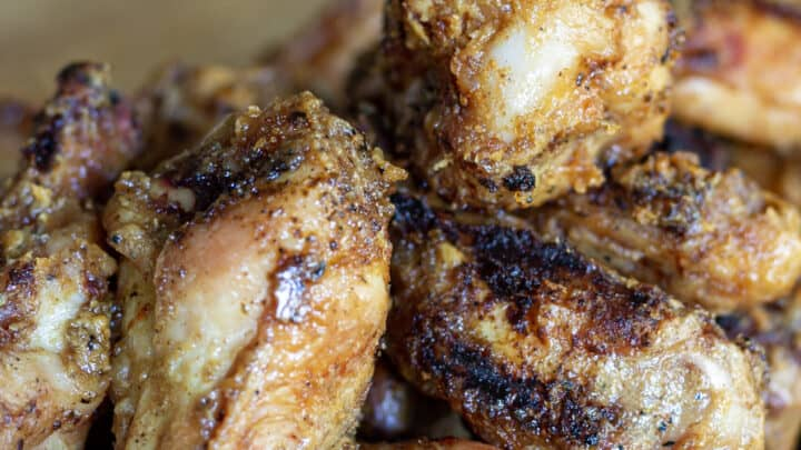 Spicy Peanut Butter Chicken Wings