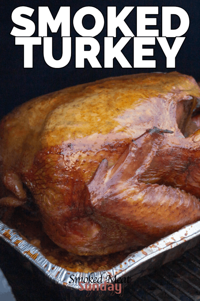 How to make smoked turkey on traeger - how to make a turkey brine - how long to smoke a turkey - smoked turkey recipe - traeger turkey recipe #thanksgiving #holiday #bbq