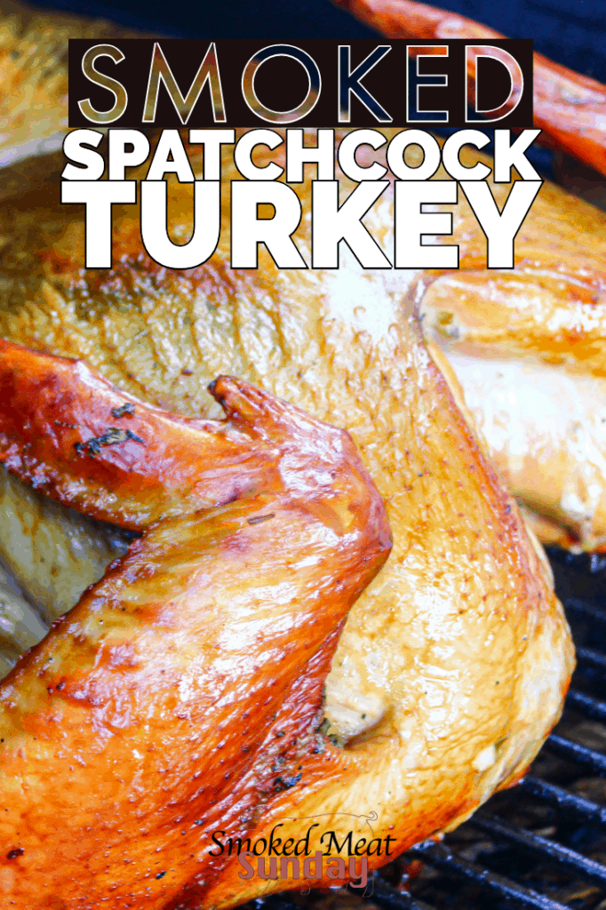 Looking for an easy way to prepare the holiday turkey? This smoked spatchcock turkey recipe is simple and produces exceptional results.  #traegerbbq #traegerrecipe #bbq #turkey #christmas #thanksgiving