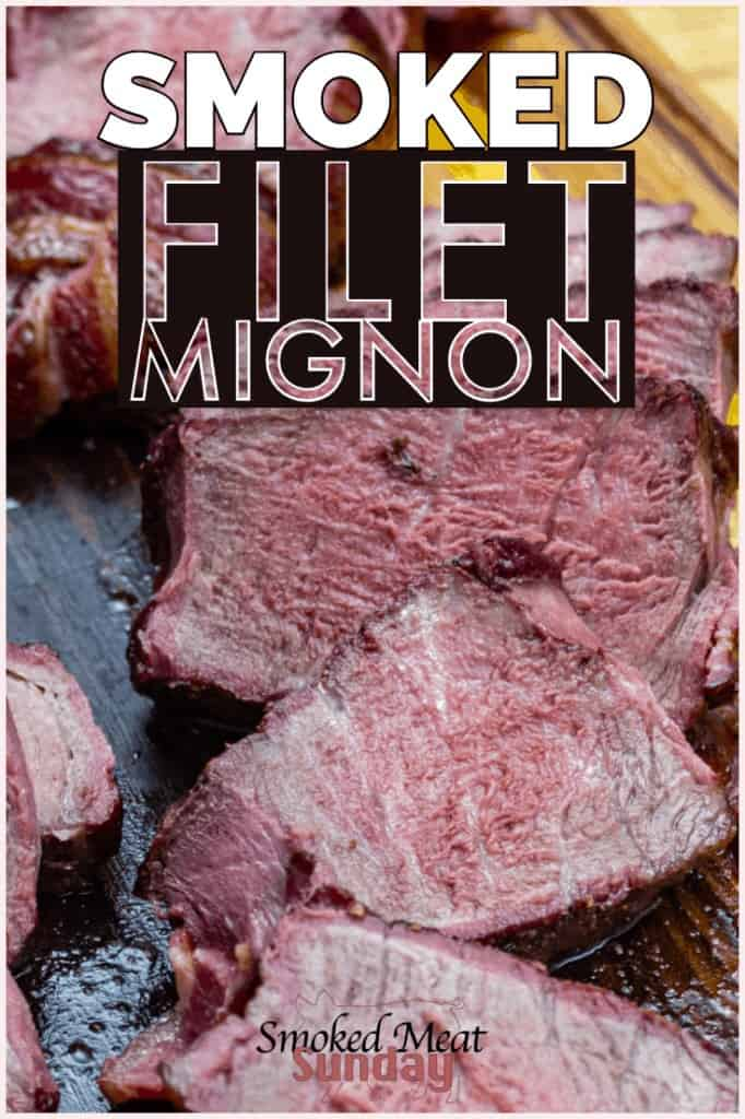 Have you ever had smoked filet mignon? This is one of my favorite steaks to prepare on a smoker, and this recipe is sure to please your friends and family. If you're looking for a great smoked steak recipe, this is it.   #smokedmeat #bbq #wagyubeef #steak