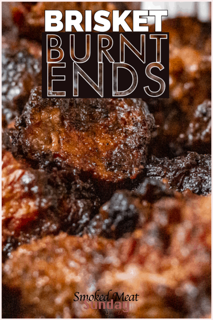 This is a step by step guide showing how to make bbq brisket burnt ends. One of the best bites in bbq, you've gotta try this smoked brisket recipe. #brisket #bbqrecipe #burntends #howtobbq #Traegerrecipe