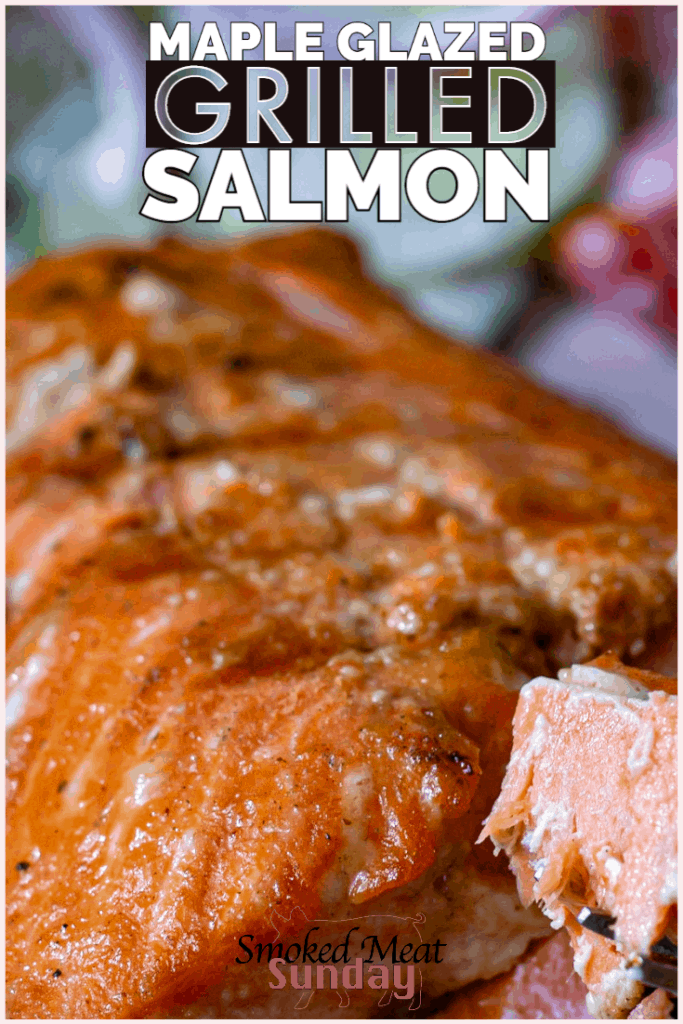 Is there anything better than grilled salmon?! This light and tasty grilled salmon with maple glaze is so delicious, and perfect for date night. If you're looking for a quick and simple romantic dinner idea, this salmon recipe hits the spot. Head in to Albertson's on Broadway or Albertson's Market Street to get all the ingredients, along with a tasty bottle of wine and some flowers, and then consider date night covered! #eatlifeup #grilledsalmon #salmon #datenight #romanticdinner