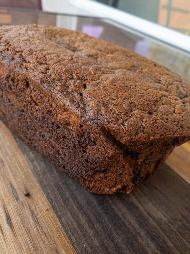 smoked banana bread