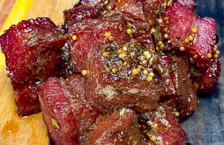 corned beef brisket burnt ends
