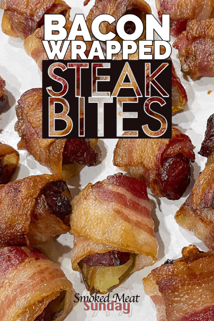This simple smoked appetizer is one of my family's favorites! Bacon wrapped steak bites are easy to make, and crazy delicious.